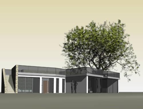 Progetto di una villa nelle colline di Montiano