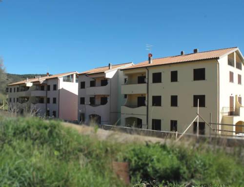 Edifici residenziali per 18 appartamenti a Porto Ercole