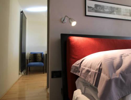 Un appartamento su due livelli