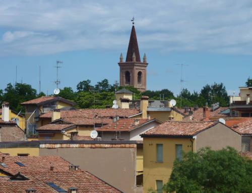 Una mansarda sui tetti bolognesi