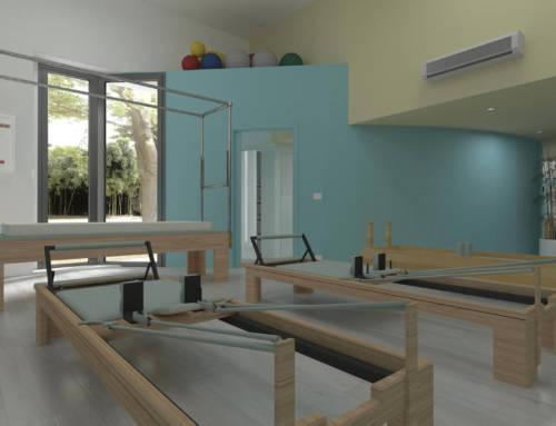Palestra per Pilates, ristrutturazione
